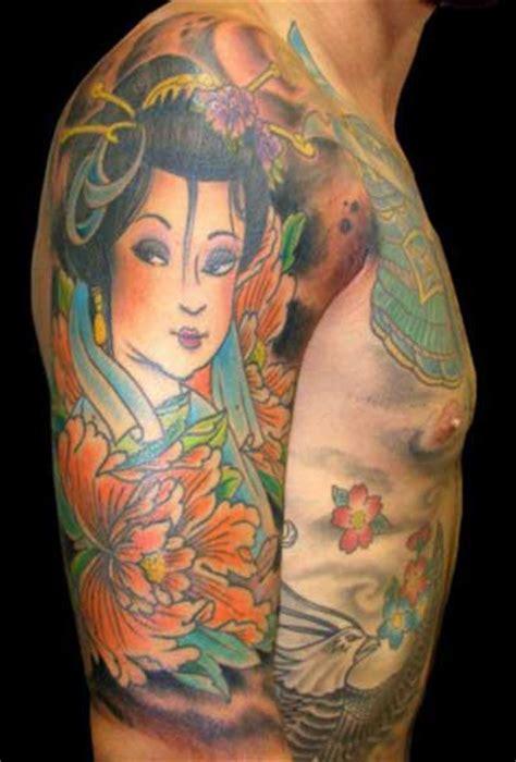 tattoo oriental feminina 30 tatuagens de gueixas femininas significados e desenhos