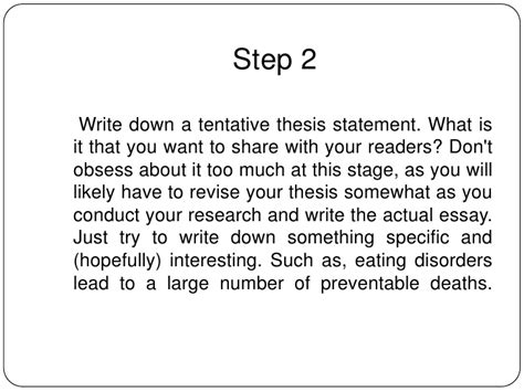 informative thesis statement how to write an informative essay