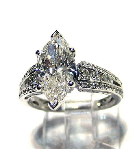 unique marquise ring settings wedding promise