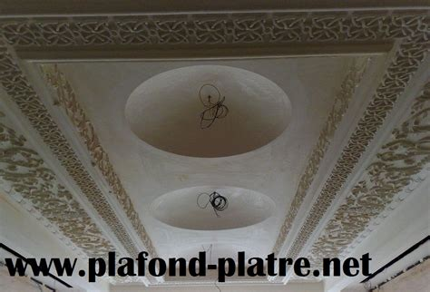 deco plafond decoration platre plafond simple obasinc