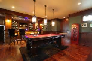 Home Pub Decor Irish Pub Addition Traditional Family Room Other