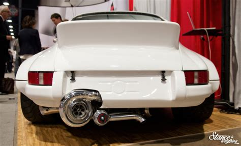 porsche bisimoto event coverage sema 2014 automotive buffet stance is