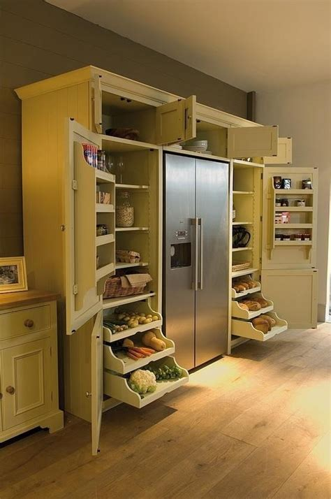 fridge built in cabinet kitchen stuff pinterest