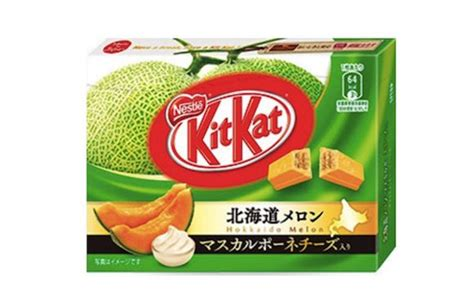 Kitkat Green Tea 4f melon and cheese flavored kitkat japan today