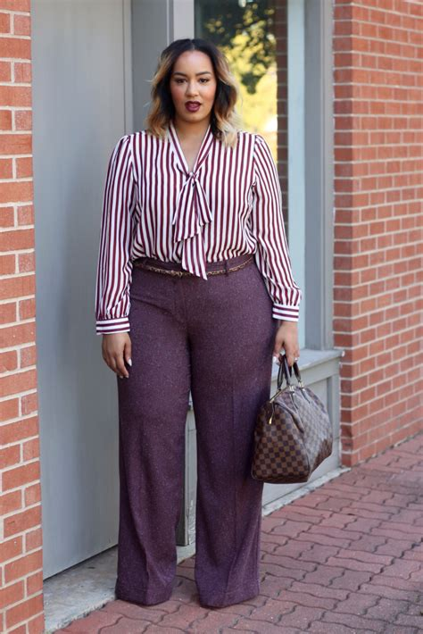 how to dress professionally overweight young woman how to wear wide leg pants plus size stylish curves