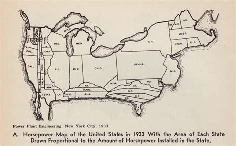 us map proportional to population distorted maps maps diy cartography