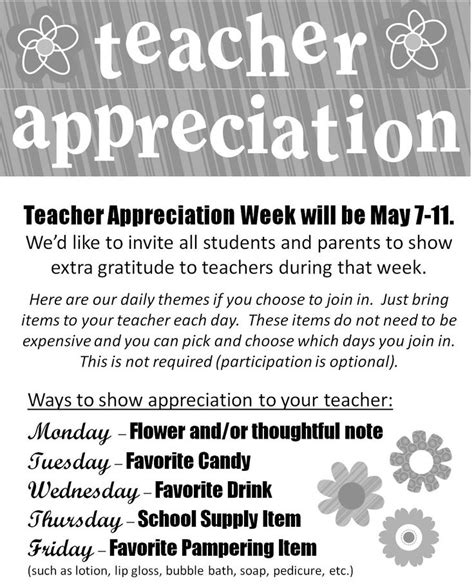 letter to teachers for appreciation week 17 best ideas about appreciation week on