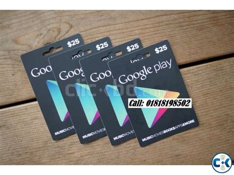 Google Play Store Gift Card Online - google play store gift card google play card available in bd clickbd