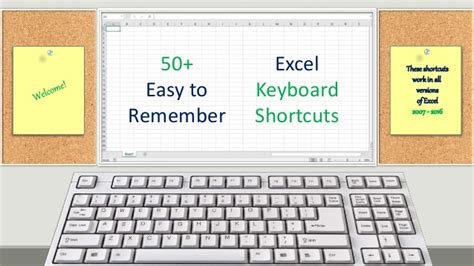 excel keyboard layout excel 50 keyboard shortcuts
