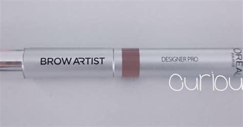 L Oreal Brow Artist Designer Pro Harga curious may review loreal brow artist designer