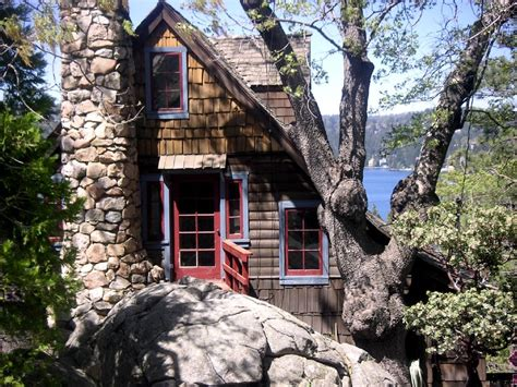 Cabin Rental Lake Arrowhead by Boulder Crest Historic Lakeview Hideaway Homeaway
