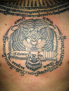 yantra tattoo in singapore sak yant thai traditional tattoo with bamboo style by