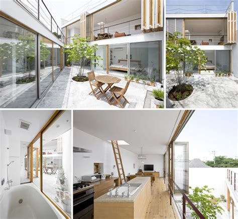interior garden house cool modern home with hidden interior garden