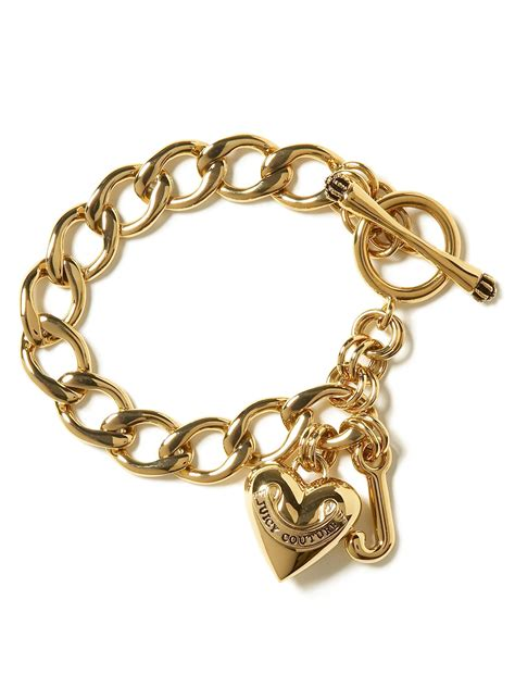 couture starter charm bracelet in gold lyst