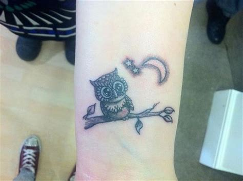 cute unique tattoo designs 36 attractive owl wrist tattoos design