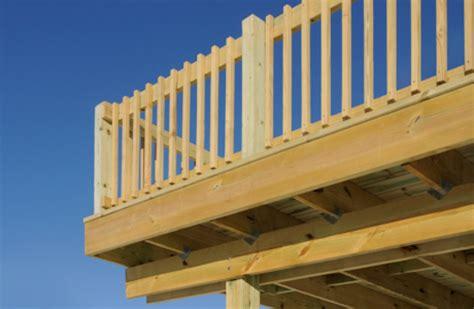 standard deck deck railing here s standard deck railing made f