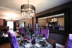 purple dining room ideas purple and black room ideas black and bedroom