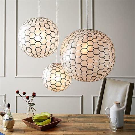 capiz shell pendant light capiz shell pendant light popsugar home