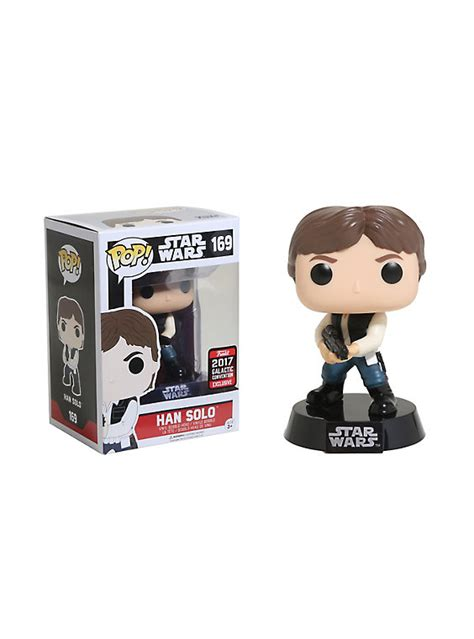 Funko Pop Original Han Wars funko wars pop han vinyl bobble 2017