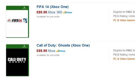 amazon xbox one games xbox one games priced at 163 89 99 on amazon uk 171 video game