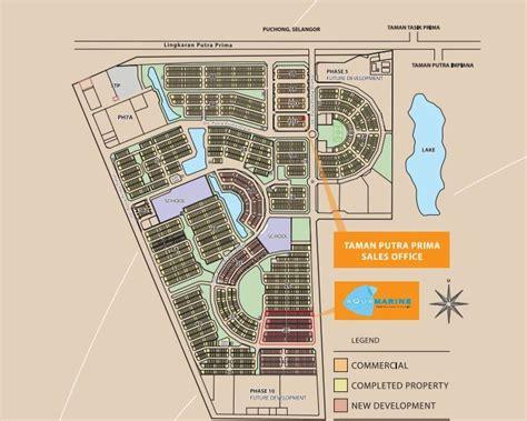 layout taman aquamarine taman putra prima puchong review
