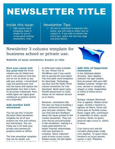newsletter templates pdf newsletter templates free create edit fill