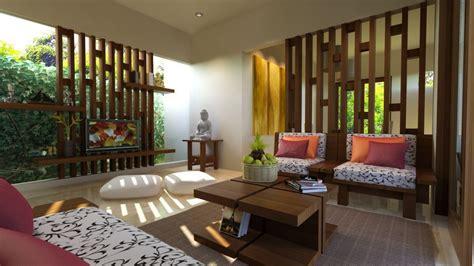 model ruang tamu terbuka minimalis modern desain
