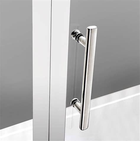 Shower Door Handles Uk Pivot Hinge Shower Door Enclosure 6mm Safety Glass Screen 700 760 800 900 1000 Ebay