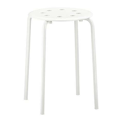 White Parts In Stool by Marius Tabouret