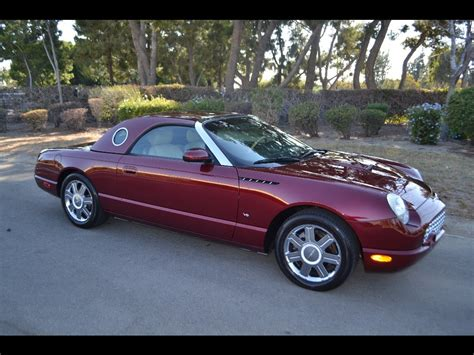 corvette thunderbird sold 2004 ford thunderbird convertible merlot for sale by