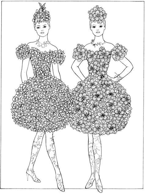 creative fantasies coloring book coloring books from creative flower fashion fantasies coloring