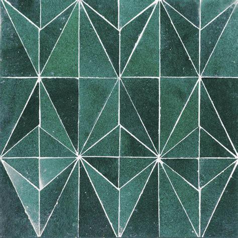 geometric pattern kitchen tiles zellige creative trc7 geometric tiles handmade green