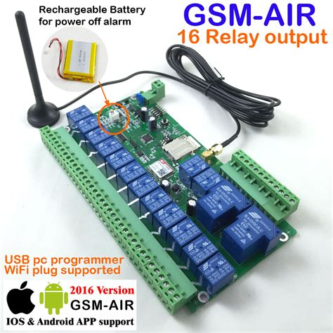 gsm remote aliexpress buy free shipping 16 way 7ch real time
