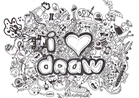 i you doodle doodle i draw by tomasbartwork on deviantart
