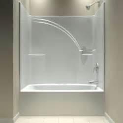 One Piece Bath Shower Tub And Shower One Piece