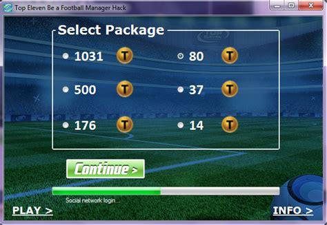 tutorial hack token top eleven top eleven token hack football manager tokens