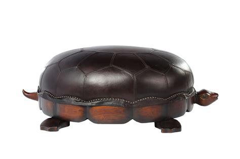 turtle ottoman turtle ottoman leather furniture