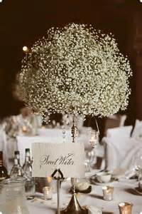inexpensive centerpieces for weddings 16 centro de mesa con gypshophilia centros de mesa