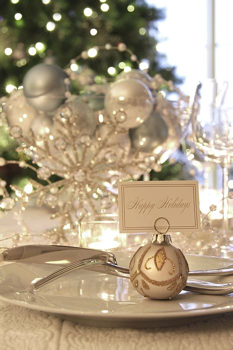 elegant dinner tables pics elegant holiday dinner table with focus on place card by