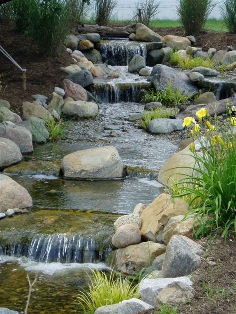 backyard pond waterfalls best 25 pond waterfall ideas on pinterest