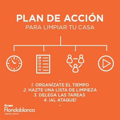 plan de accion para una estacion de servicio en argentina plan de acci 243 n para limpiar tu casa grupo floridablanca