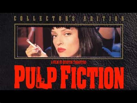pulp fiction soundtrack pulp fiction soundtrack opening theme dick dale and his