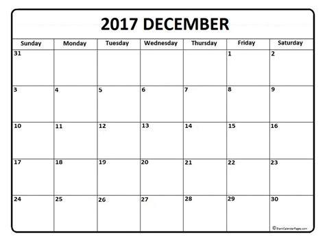 free december calendar template december calendar 2017 printable and free blank calendar