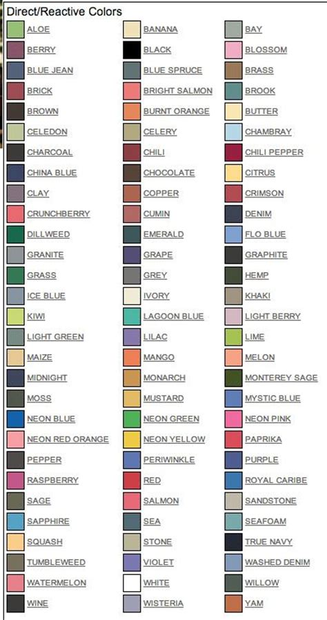 Comfort Colors T Shirts Color Chart by Comfort Color T Shirt Color Chart Search Crafts