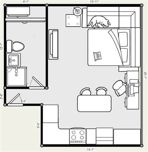 studio plan 25 best ideas about studio apartment floor plans on pinterest small apartment plans small