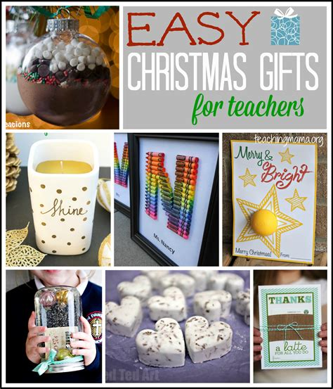 teacher christmas gifts to make easy gifts for teachers