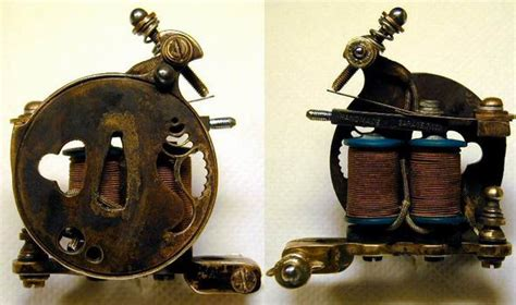 japanese tattoo machine bernhards brass quot tsuba quot tattoo machine japanese tattoo
