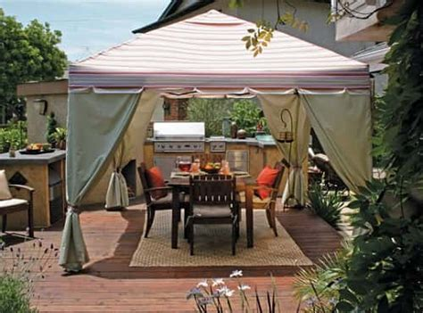 Outdoor Tents For Patios by 35 Most Attractive And Cozy Sunshades For Patio Ideas