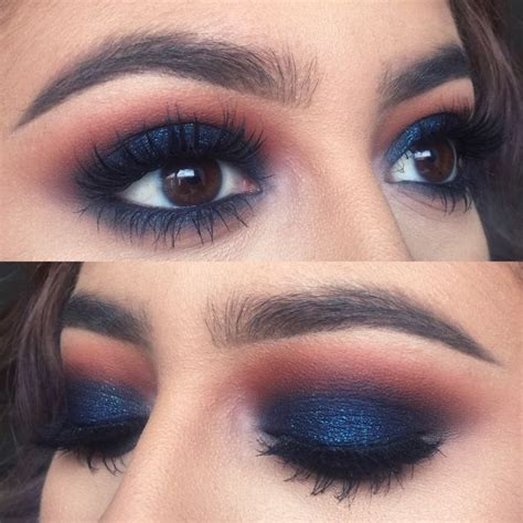Eyeshadow Blue prom makeup ideas you need to try hirerush