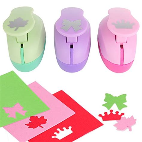 Paper Craft Punch Set - paper punch puncher construction paper 3 pack